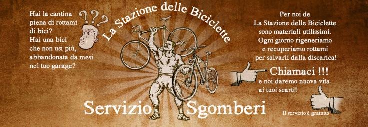 recupero bici usate cantine sgomberi gratis